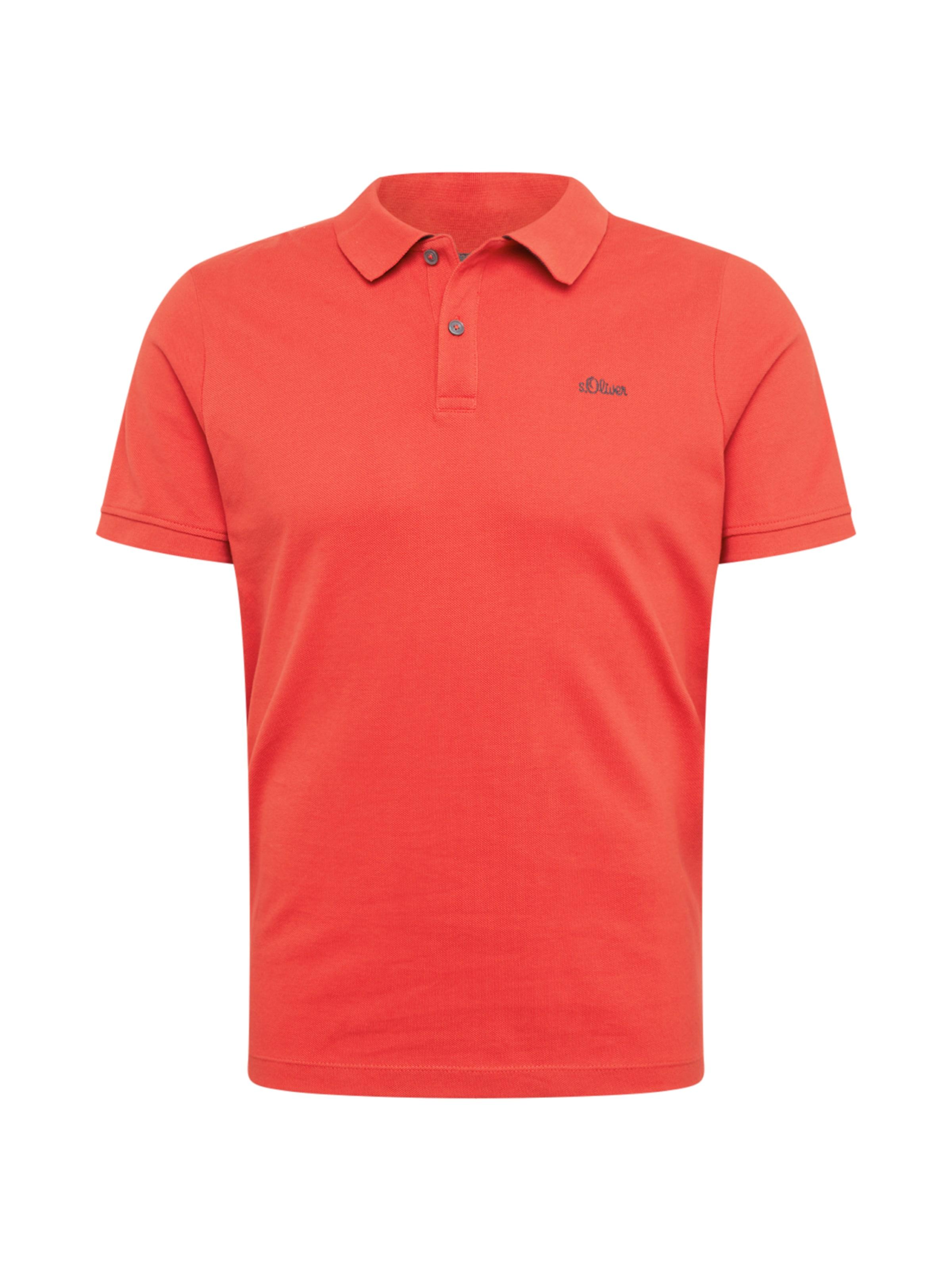 oliver S In BlauwOranjerood Shirt Red Label QsCrhxtd