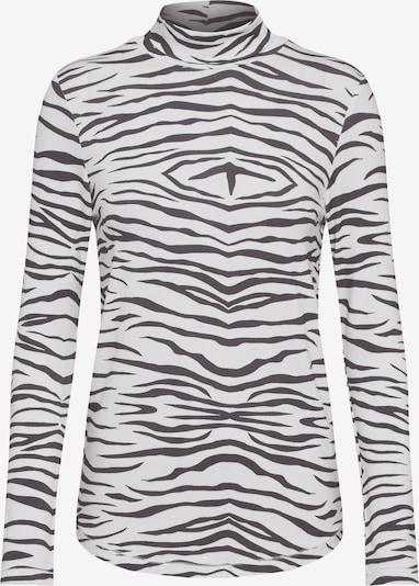 Ragdoll LA Shirt 'Leopard' in schwarz / weiß, Produktansicht