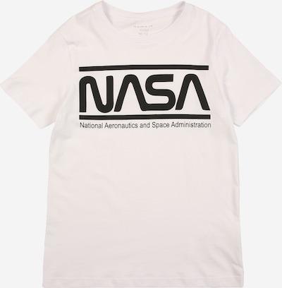 NAME IT Paita 'NASA LUCAS' värissä musta / valkoinen, Tuotenäkymä