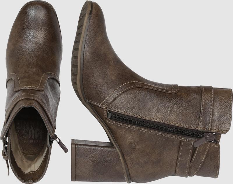 Mustang Ankle Boot In Vintage Look