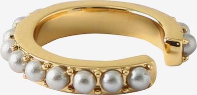 Orelia Pendientes 'Mini Pearl Single Ear Cuff' en oro / blanco perla, Vista del producto