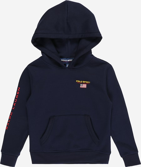 POLO RALPH LAUREN Sweatshirt in navy, Produktansicht