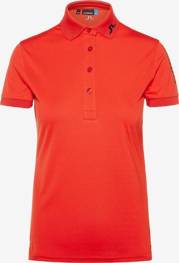 J.Lindeberg Poloshirt in hellrot, Produktansicht