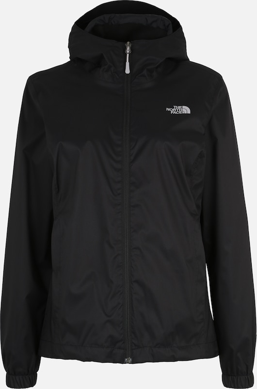 THE NORTH FACE Veste de sport 'Quest' en noir: Vue de face