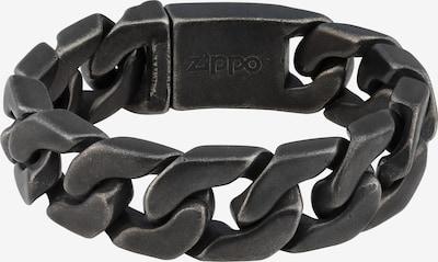 ZIPPO Armband in de kleur Grijs, Productweergave
