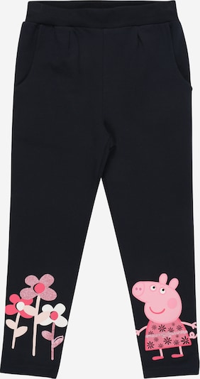 NAME IT Leggings 'PEPPAPIG VIONA' in dunkelblau / pink, Produktansicht