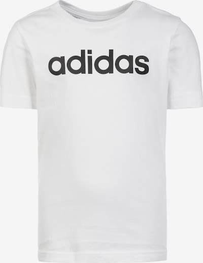 ADIDAS PERFORMANCE Trainingsshirt 'Essentials Linear' in schwarz / weiß, Produktansicht