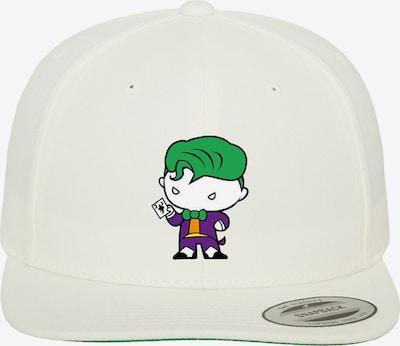 Mister Tee Snapback 'Joker Comic' in grün / weiß, Produktansicht