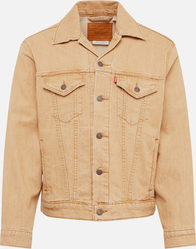 LEVI'S Jeansjacke 'THE VIRGIL TRUCKER' in beige, Produktansicht