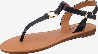 UNLIMITED Sandale in blau, Produktansicht