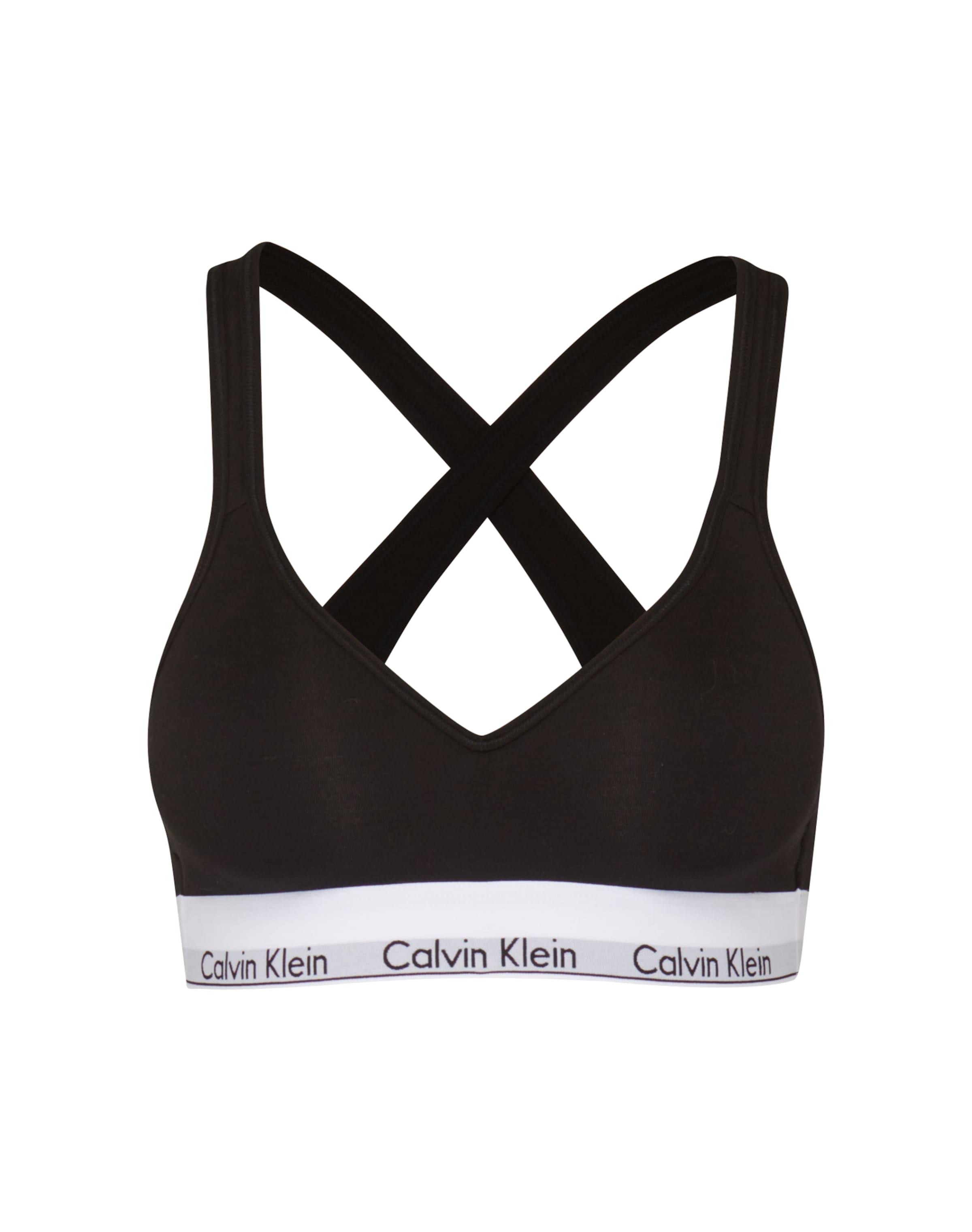 Underwear Calvin 'lift' In Klein Bralette SchwarzWeiß KlFcJ13T
