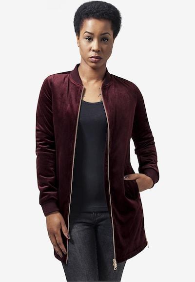 Urban Classics Jacket in burgunder: Frontalansicht
