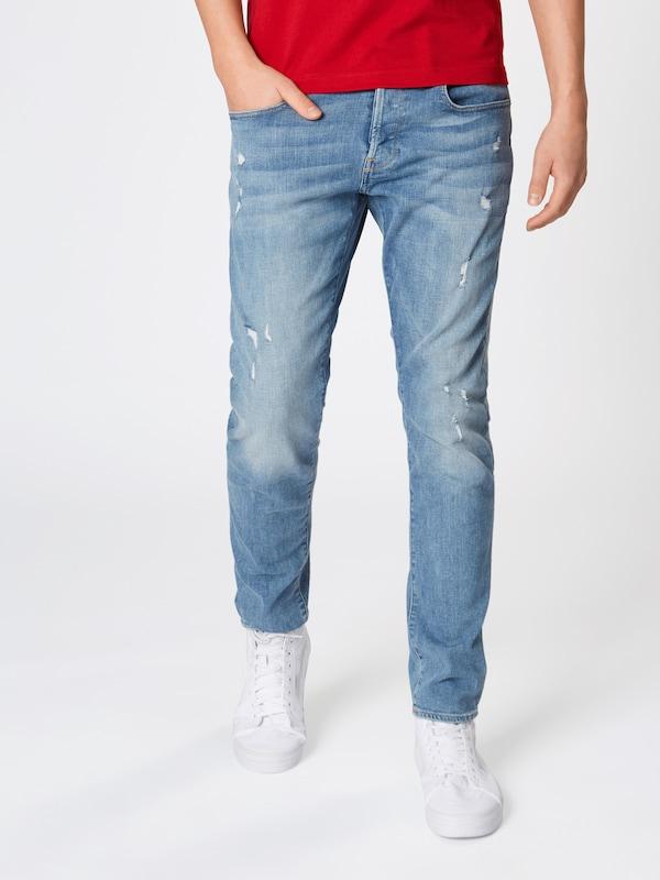 Slim' Denim Jean '3301 En G star Bleu Raw HYeWD29EI