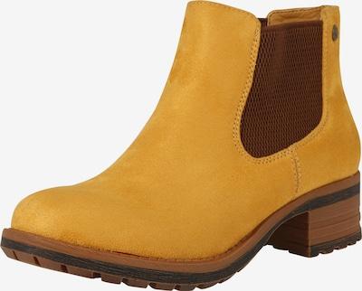Chelsea batai '96884' iš RIEKER , spalva - ruda / garstyčių spalva: Vaizdas iš priekio