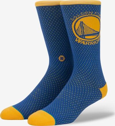 Stance Socke 'NBA Arena Warriors' in blau / senf, Produktansicht