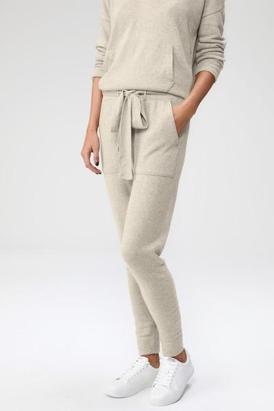 LeGer by Lena Gercke Pantalon 'Lou' en beige, Vue avec modèle