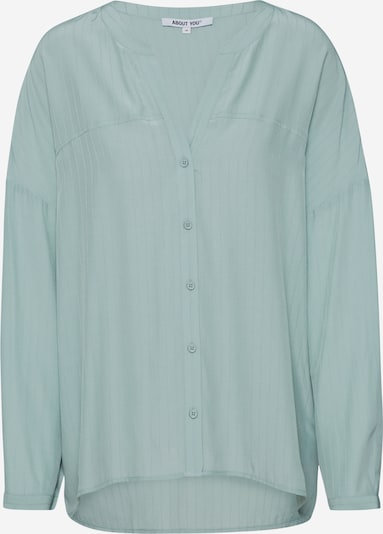 ABOUT YOU Bluse 'Doro' in mint: Frontalansicht