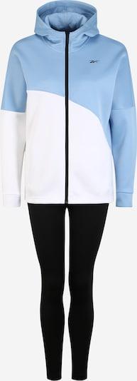Costum de trening REEBOK pe albastru deschis / alb, Vizualizare produs