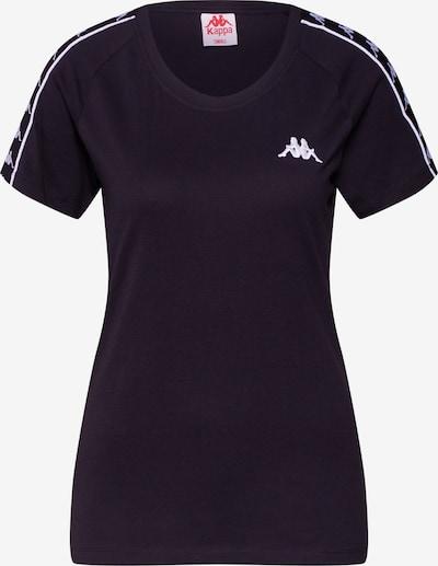 KAPPA T-Shirt in schwarz / weiß, Produktansicht