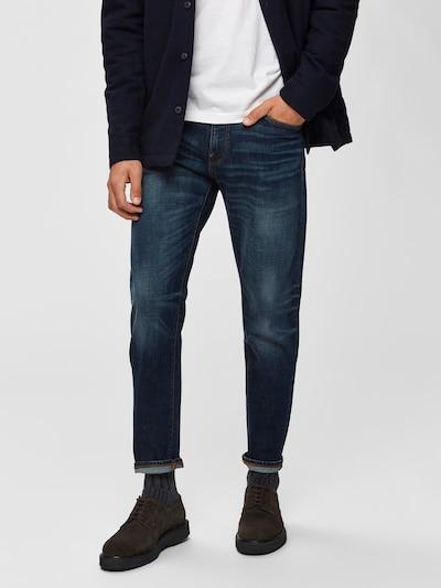 SELECTED HOMME Jean en bleu denim: Vue de face