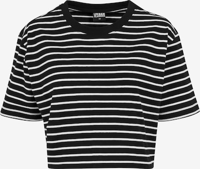 Urban Classics Oversized shirt in de kleur Zwart / Wit, Productweergave
