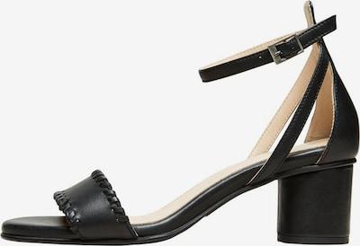 SELECTED FEMME Sandale in schwarz, Produktansicht
