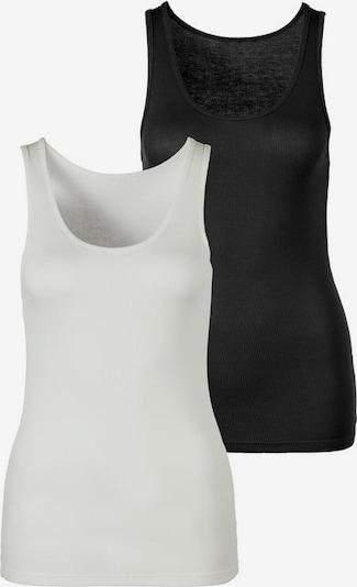 s.Oliver Tanktop in schwarz / weiß, Produktansicht