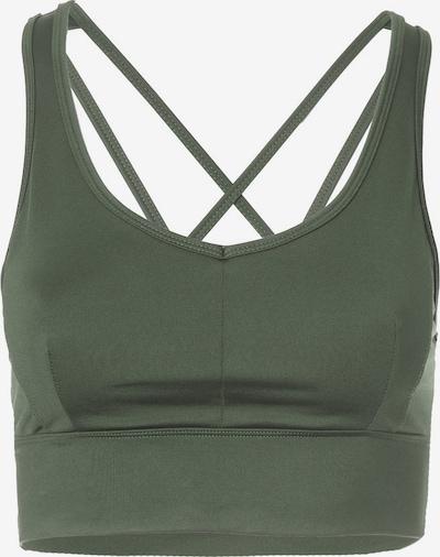 Kismet Yogastyle Sport-BH 'Radha' in grün, Produktansicht