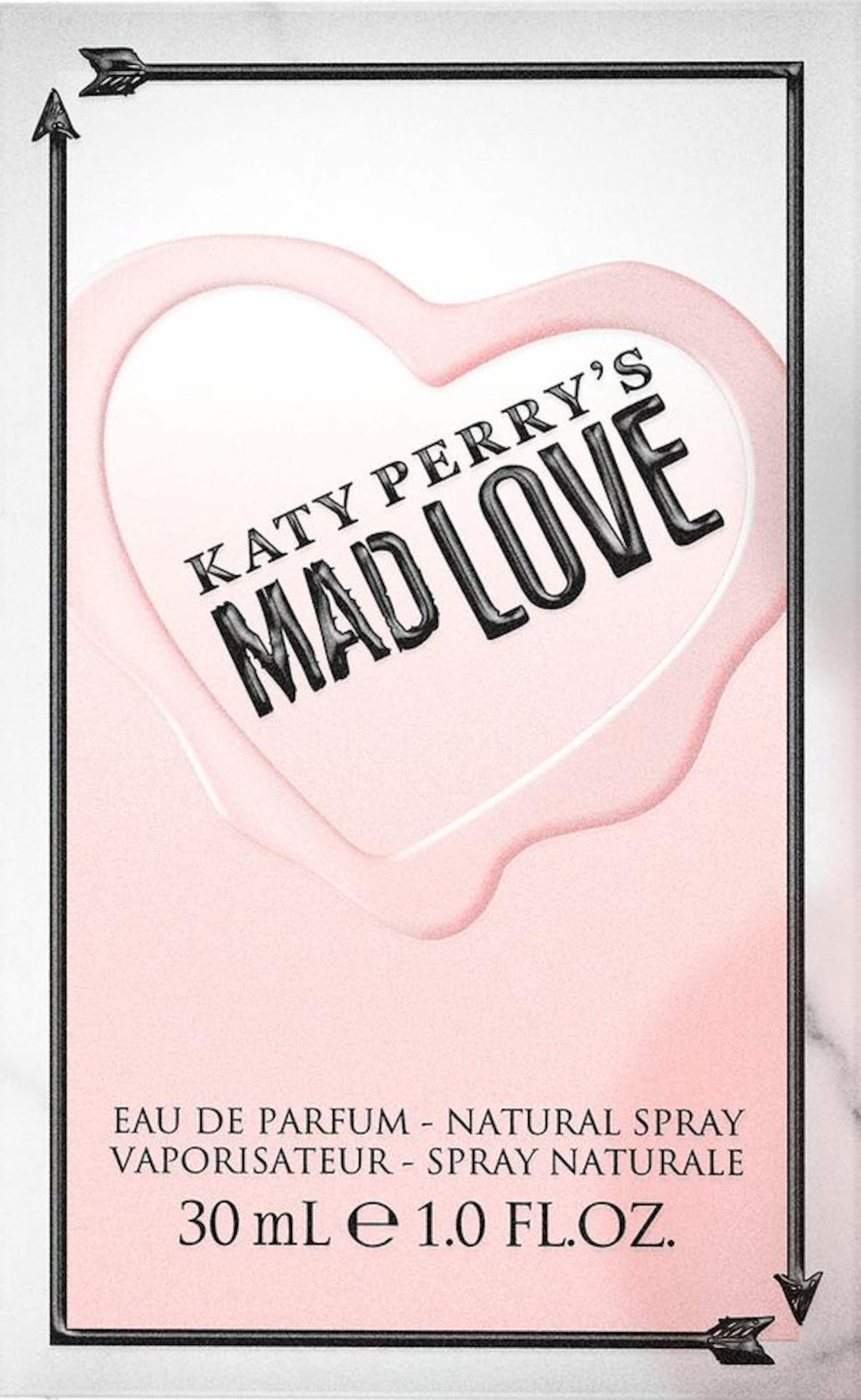 Katy 'mad Love' Perry Eau Parfum In De RosaWeiß P0O8wkn