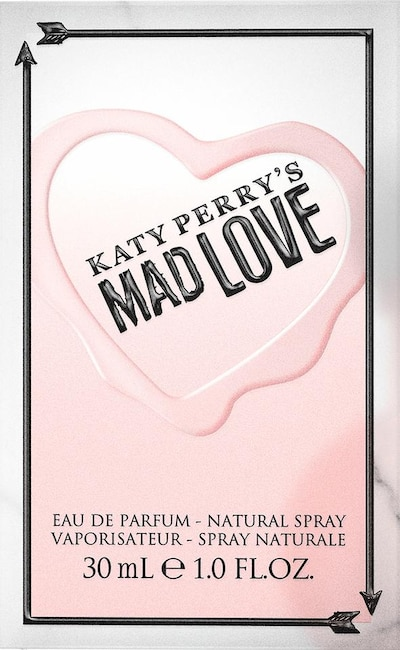 Katy Perry 'Mad Love' Eau de Parfum in rosa / weiß, Produktansicht