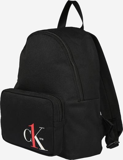 Calvin Klein Jeans Rucksack  'CK1 CAMPUS BP35' in schwarz / weiß, Produktansicht