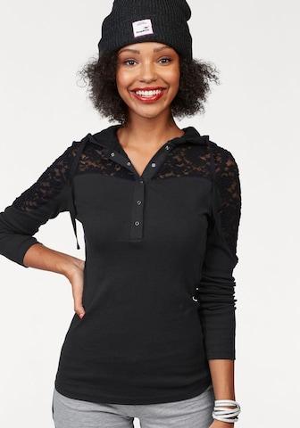 KangaROOS Shirt in Black
