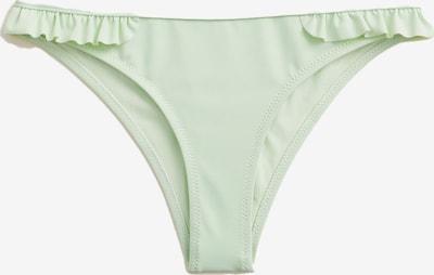 MANGO Dół bikini 'Sita' w kolorze miętowym, Podgląd produktu
