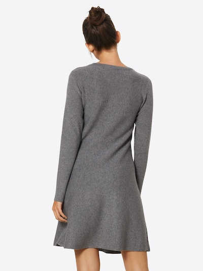 VERO MODA Robe en gris: Vue de dos