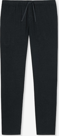 SCHIESSER Pyjamabroek in de kleur Zwart: Vooraanzicht