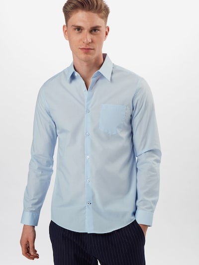 BURTON MENSWEAR LONDON Hemd in blau: Frontalansicht
