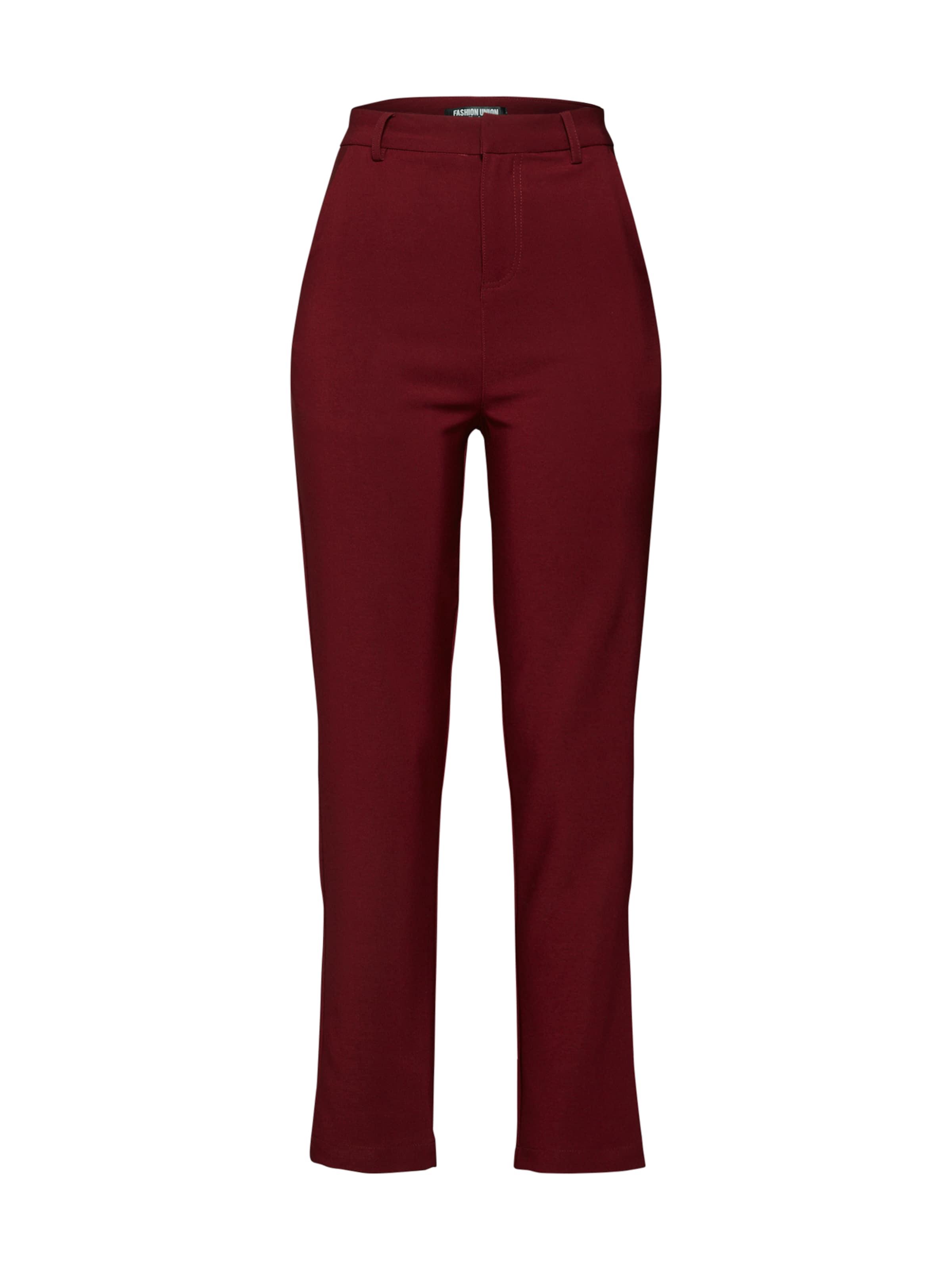 Fashion 'rosen' Bourgogne Pantalon En Union kN0PZ8nOwX