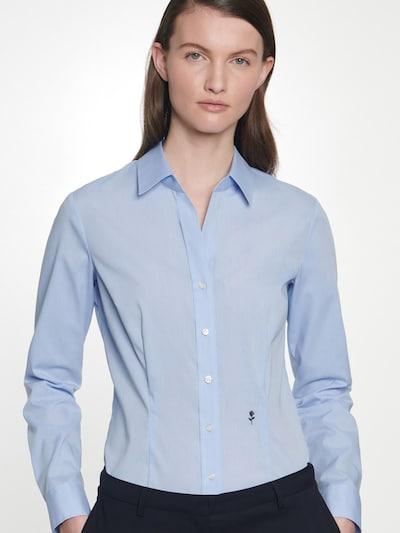 SEIDENSTICKER Blouse in de kleur Smoky blue, Modelweergave