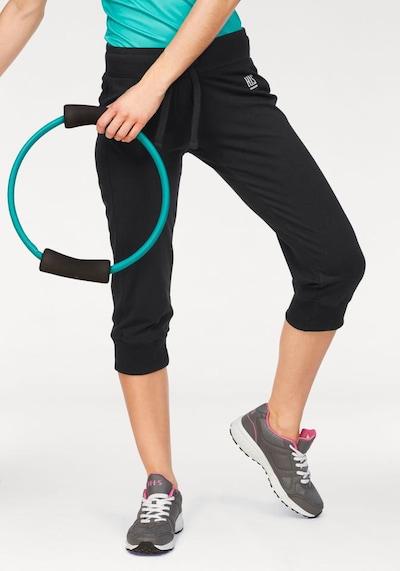 H.I.S Jogginghose in schwarz, Modelansicht
