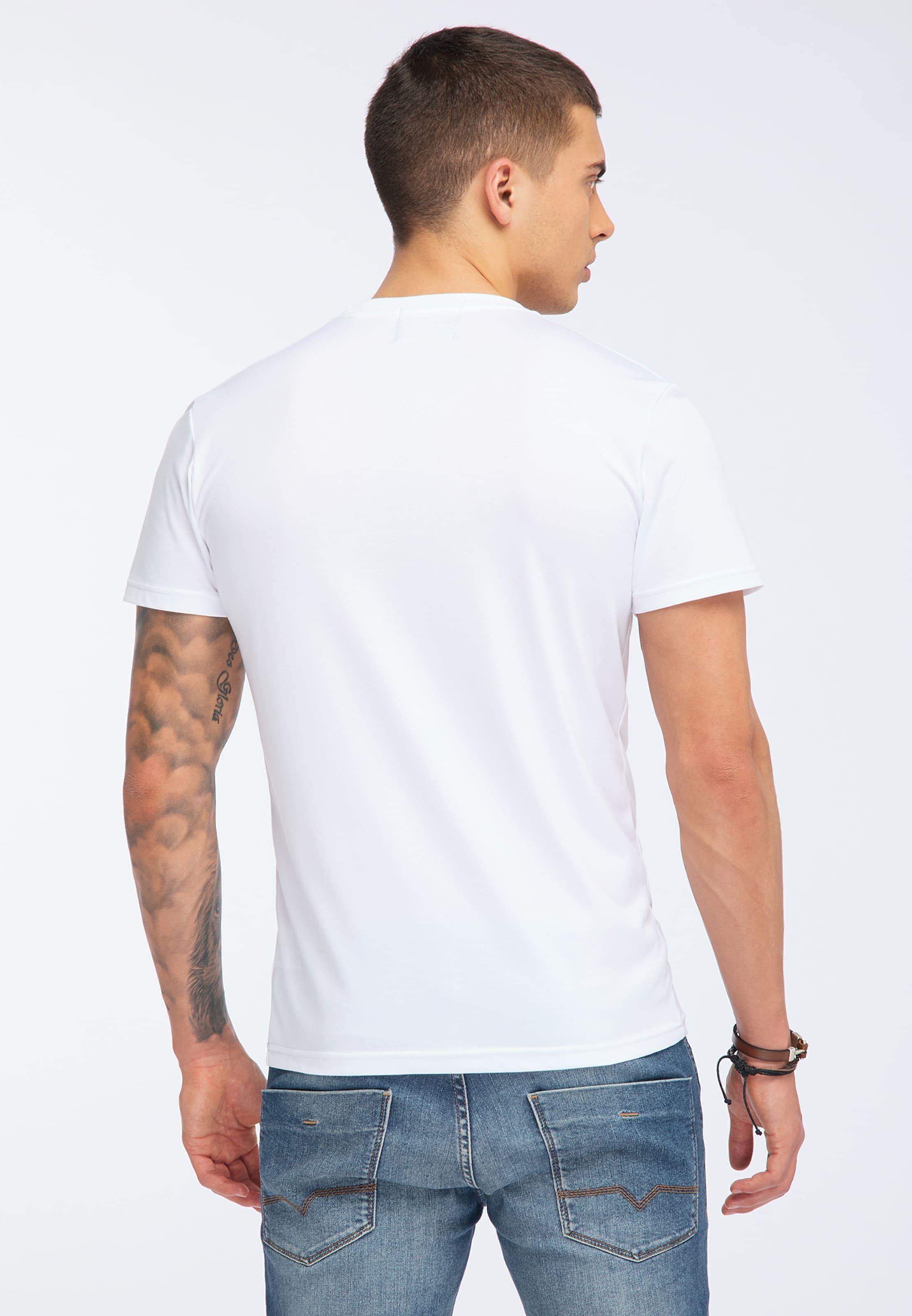 shirt T Mélange CouleursBlanc En De Oldskull IEHYW29D