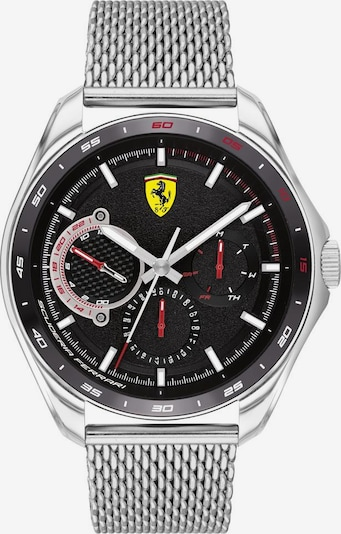 Scuderia Ferrari Uhr in rot / schwarz / silber, Produktansicht