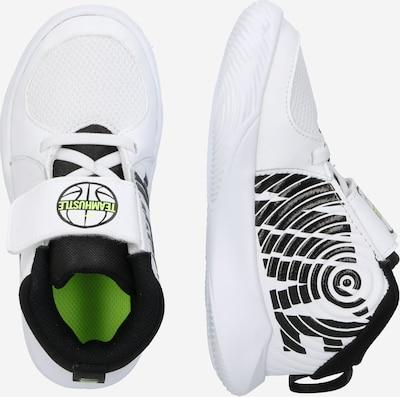 NIKE Chaussure de sport en blanc: Vue de profil