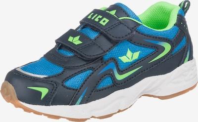 LICO Sportschuhe GAMBOL V für Jungen in marine / royalblau / neongrün, Produktansicht