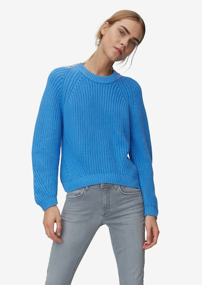 Marc O'Polo DENIM Pullover in himmelblau, Modelansicht