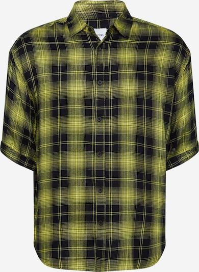 Only & Sons Hemd 'ONSLOGAN' in gelb / schwarz, Produktansicht