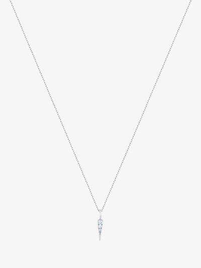 ID Fine Halskette 'Glace' in hellblau / silber, Produktansicht