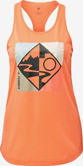 ADIDAS PERFORMANCE Sporttop in de kleur Sinaasappel, Productweergave
