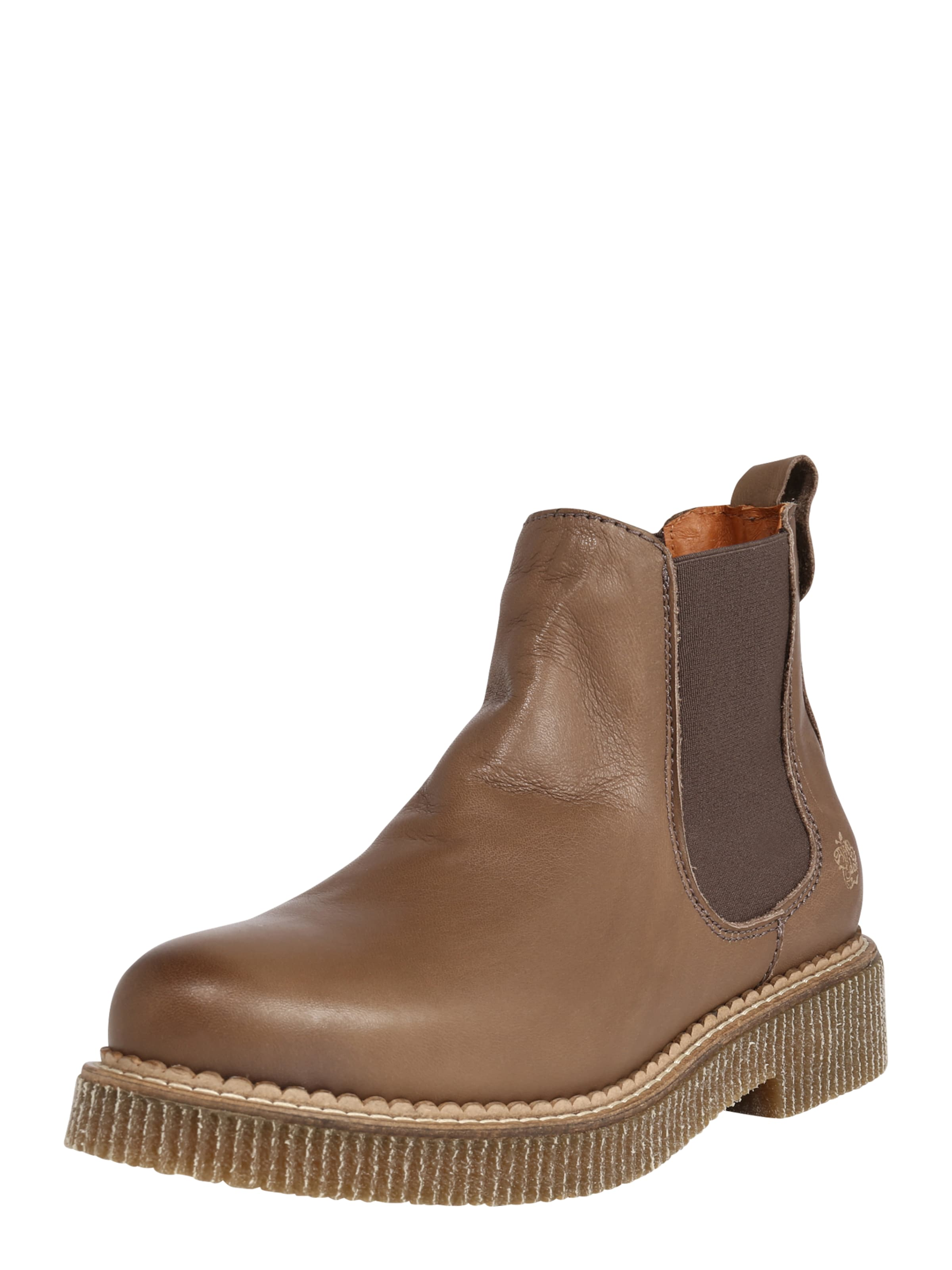 Apple of Eden Chelsea boots 'DORA' i brun