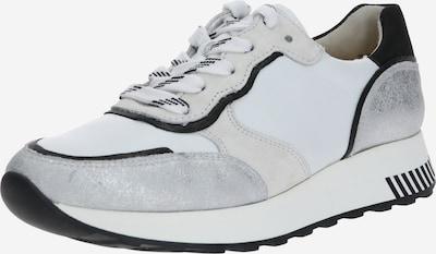 Paul Green Sneakers laag in de kleur Zilver / Wit, Productweergave