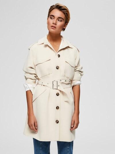 SELECTED FEMME Mantel in weiß, Produktansicht